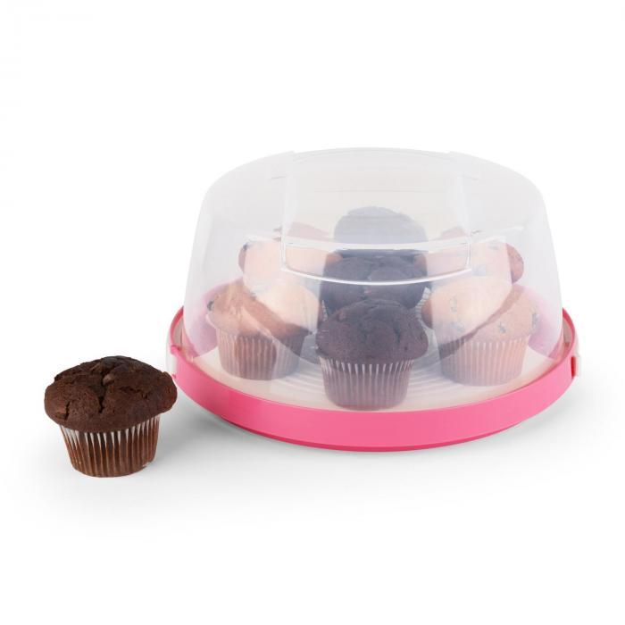 Pinkkäppchen kakkukupu Ø 26 cm vaaleanpunainen