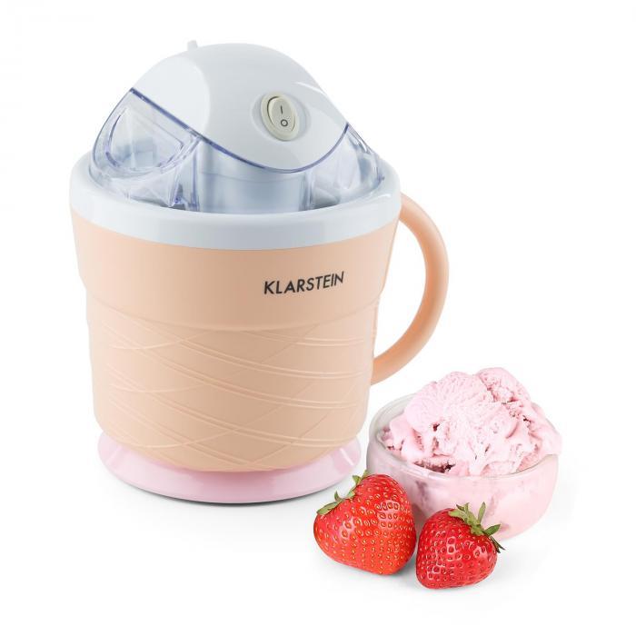 IceIceBaby Ice Cream Maker 0.75 l Handle 7.3-9.5 W Cream Orange