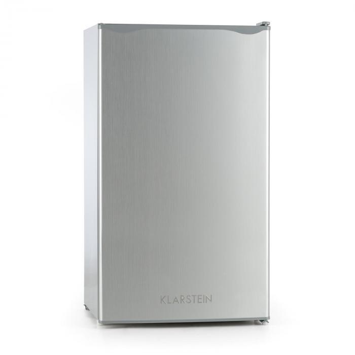 Alleinversorger Kühlschrank 90l Klasse A+ 2 Ebenen Eisfach silber ...
