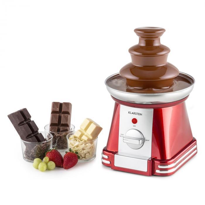 Chocoloco Schokoladenbrunnen 32 W 350g Kuvertüre rot