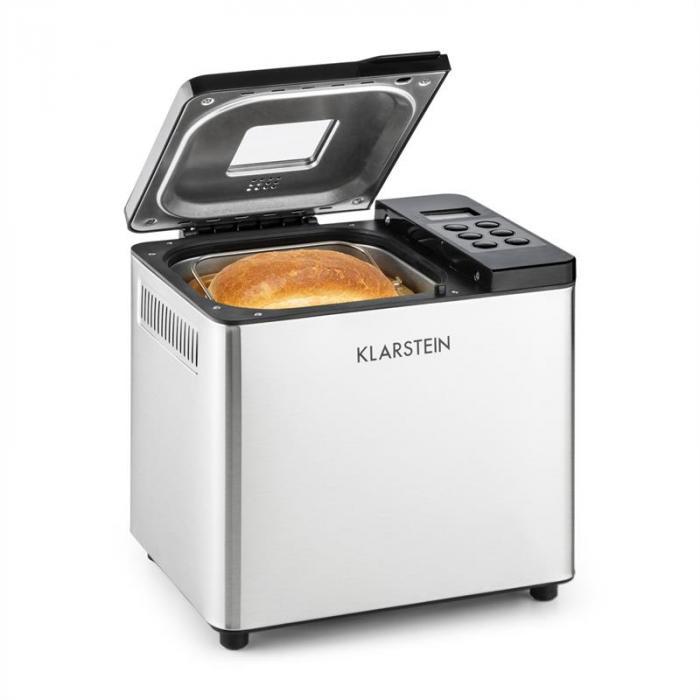 Krümelmonster leipäkone 550 W 750 g ruostumatonta terästä hopeanvärinen/musta