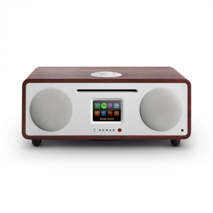 Two – 2.1 design internetradio CD 30 W bluetooth Spotify Connect wenge