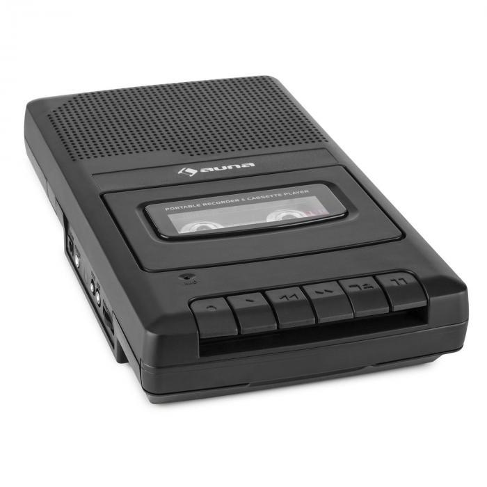 RQ-132 portabler Kassettenrekorder Diktiergerät Tape Recorder Mikrofon