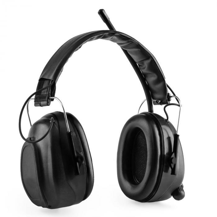 Jackhammer BT Cuffie Antirumore Radio FM 4.0 Bluetooth