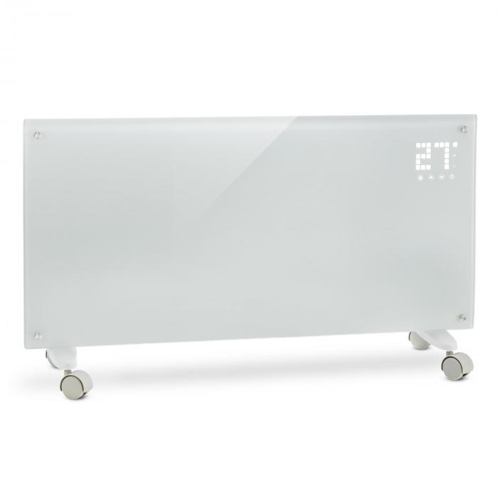 Icke gamla Klarstein Bornholm Elelement 2000W LED-Display 2 Uppvärmingsnivåer vit IK-51
