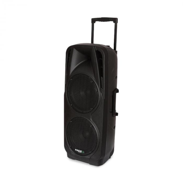 PORT225VHF-BT Impianto Audio PA portatile Bluetooth USB SD AUX MP3 VHF