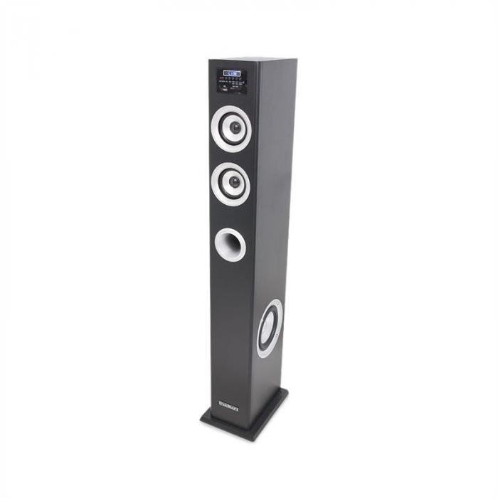 MAD-CENTER100BK Altoparlante a Torre Multimedia Bluetooth USB/SD MP3 100W