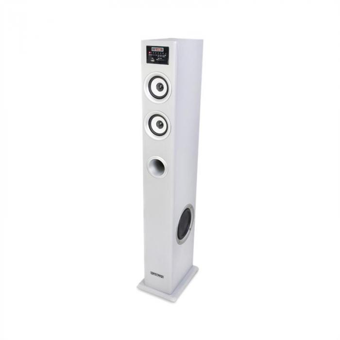 MAD-CENTER100SI Altoparlante a Torre Multimedia Bluetooth USB/SD MP3 100W
