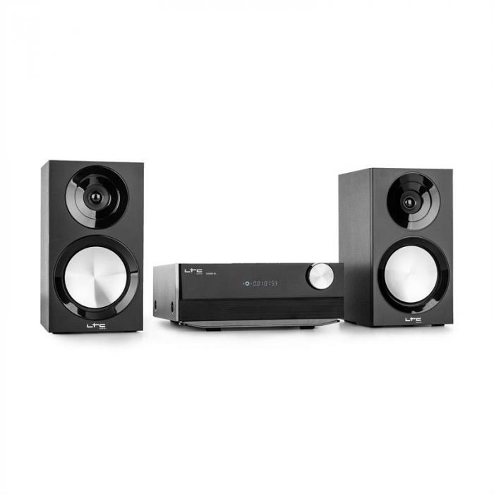 CDM90-BL Micro Impianto Stereo HiFi Bluetooth USB CD OUC/OM40W Nero