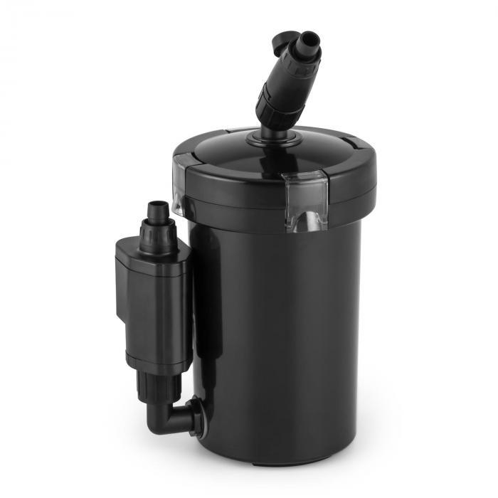 Waldbeck Clearflow 6 UVL filtr zewnętrzny do akwarium 6W 4-stopniowy filtr 400 l/h