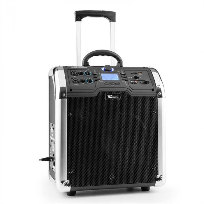 PA-203 Soundsystem Portatile Bluetooth USB SD MP3 2xAUX OUC Batt.