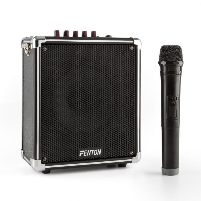 ST040 Impianto PA Mobile Bluetooth USB microSD MP3 AUX VHF Batt.