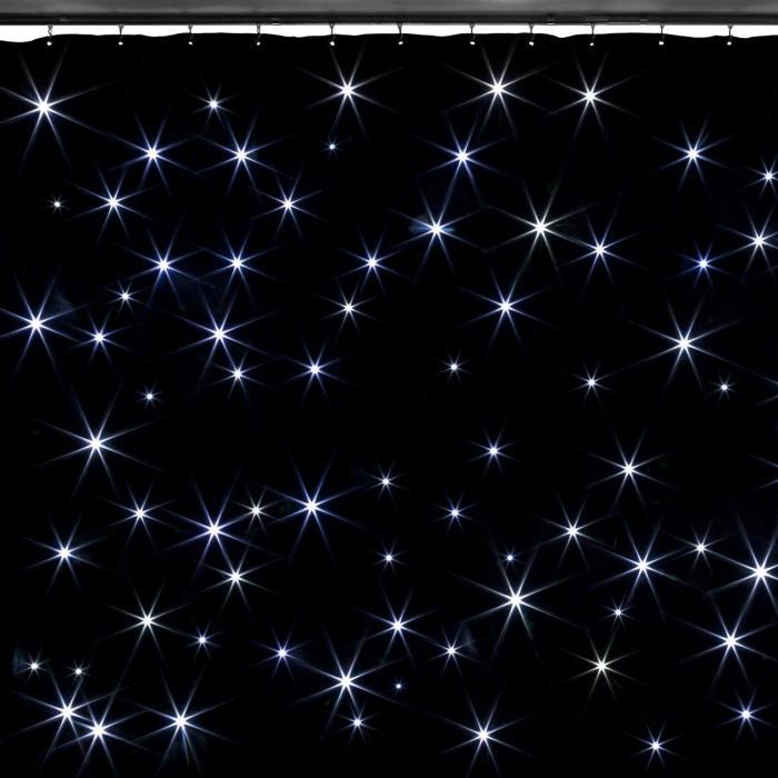 Beamz SparkleWall Kurtyna LED 96 diod LED RGBW 3 x 2 m z pilotem