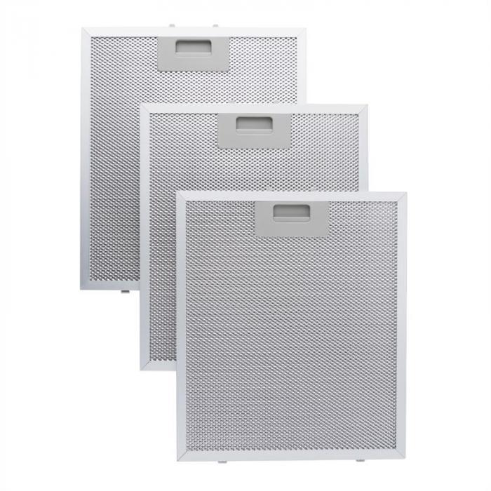 Aluminium-Fettfilter 26,5 x 31cm Austauschfilter Ersatzfilter