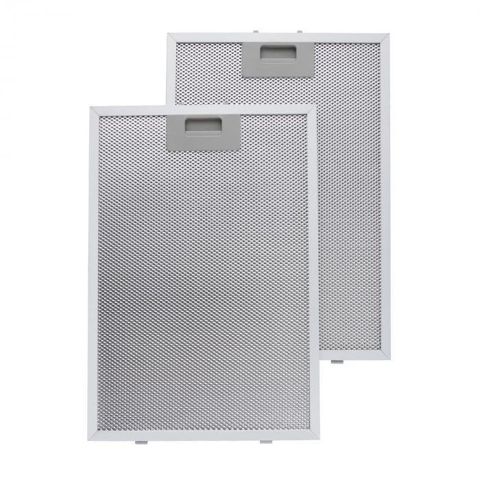 Filtri Antigrasso in Alluminio 26 x 37cm Filtri di ricambio