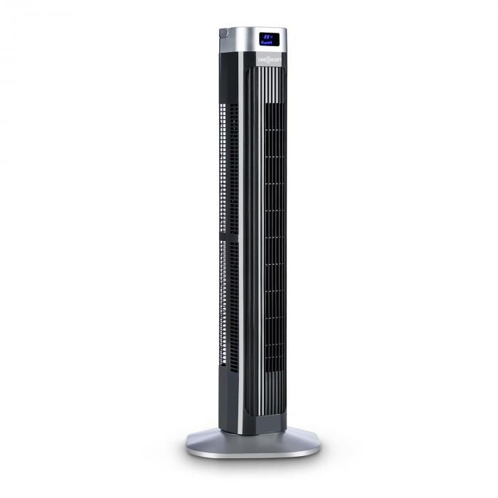 Hightower 2G Ventilatore Colonna 50W Timer Nero