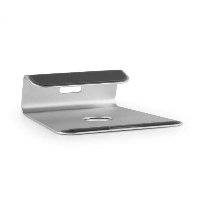 Auna A-ST-1 podstawka pod laptop i notebook 18° aluminium srebrna