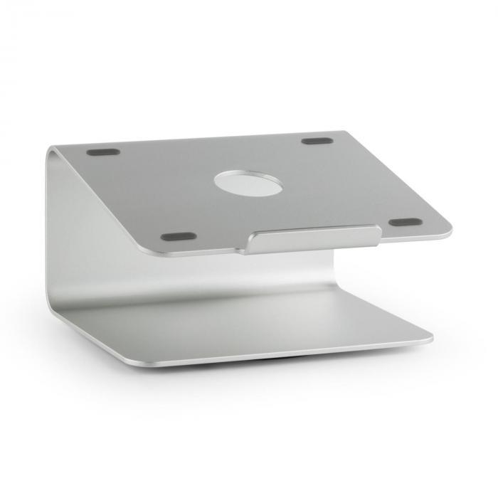 Auna A-ST-2 podstawka pod laptop i notebook 18° obrotowa 360° aluminium srebrna