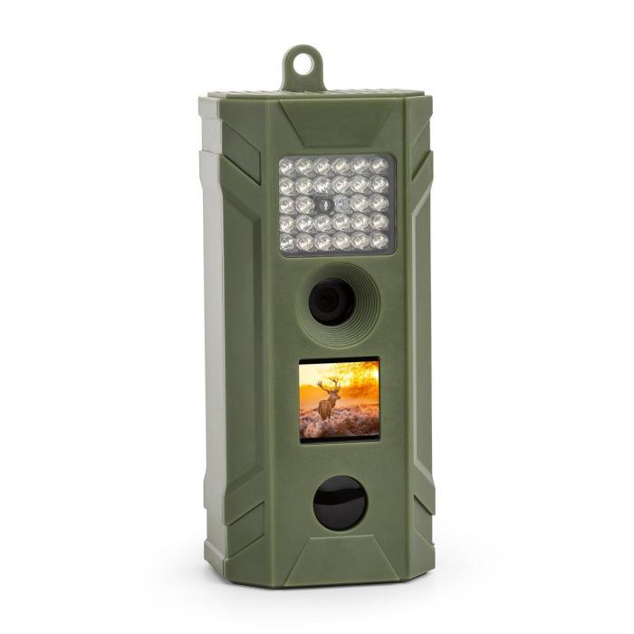 DURAMAXX Grizzly S kamera łowiecka aparat przyrodniczy fotopułapka 5 MP CMOS IP54 zielona