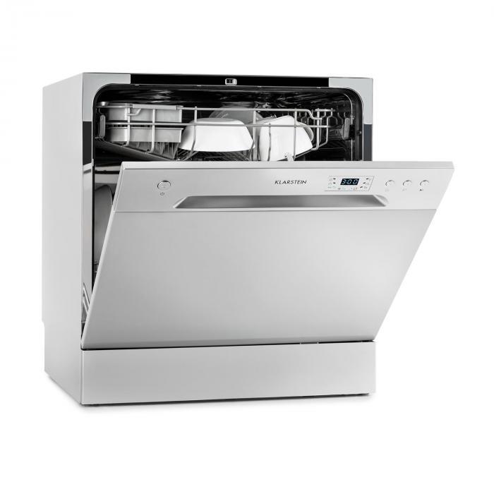 Amazonia 8 Geschirrspülmaschine Mini-Geschirrspüler A+ 1620W silber