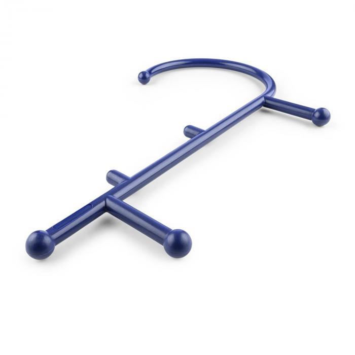 Mr Trigger Bastone per Massaggi Punti Trigger 6 Manopole Nylon blu