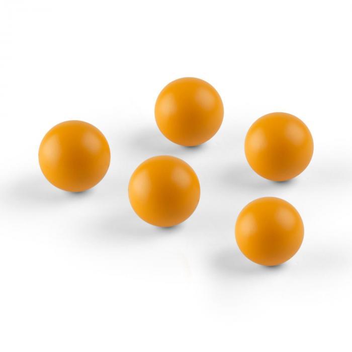OneConcept Ballyhoo Piłki zapasowe poliuretan pomarańczowe 5 sztuk miękkich piłek