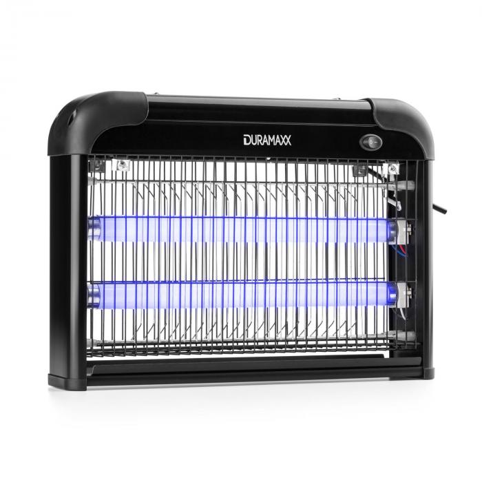 Mosquito Ex 4000 Insetticida Elettrico 2x10W UV 50m² nero