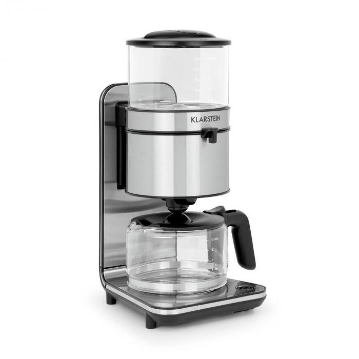 Soulmate Kaffeemaschine Filter-Kaffeemaschine 1800W Glas Edelstahl