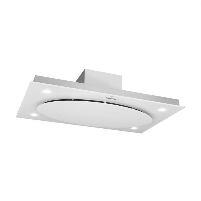 Secret Service Cappa Aspirante 220 W Touch Vetro LED Bianco