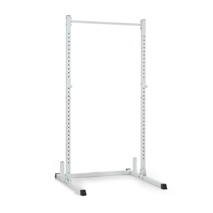 KLARFIT HR 1100 klatka atlas rack Half Rack do podciągania biały