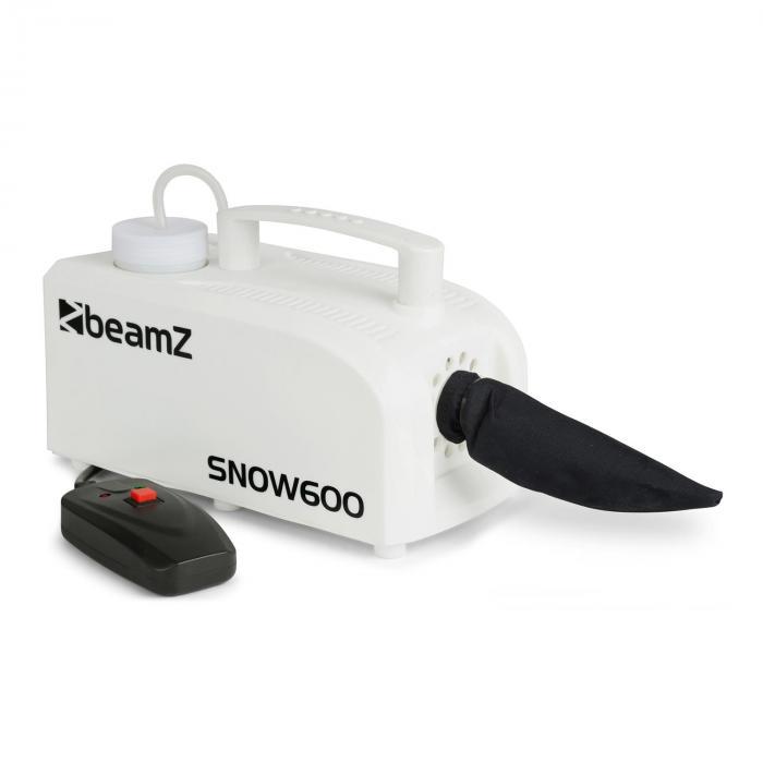 SNOW 600 Macchina Neve 600W Serbatoio 0,25L Telecomando-Cavo 5m bianco