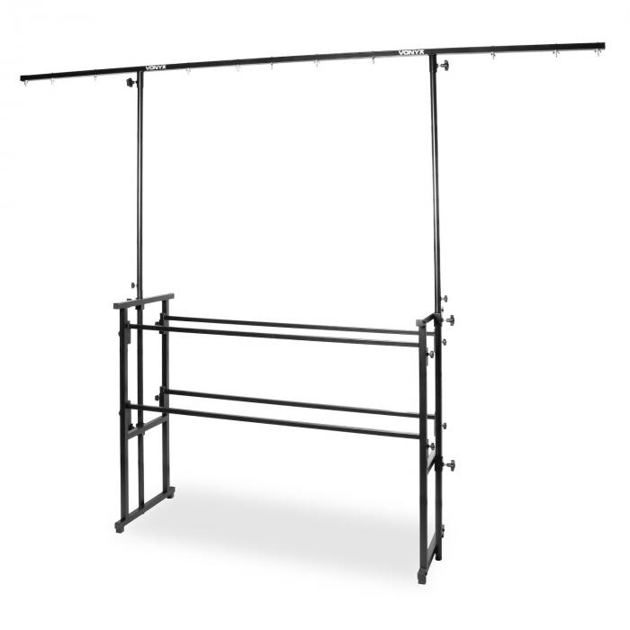 Pro Disco Stand All-in-One 11 Suspensions Height-adjustable black