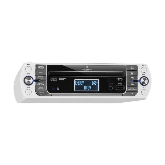 KR-400 CD Küchenradio, DAB+/PLL FM, CD/Mp3-Player weiss
