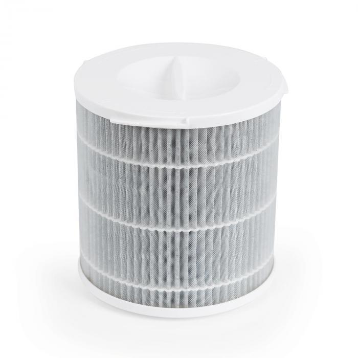 Arosa Filtro 3 Componenti Prefiltro HEPA H11 Filtro ai Carboni bianco