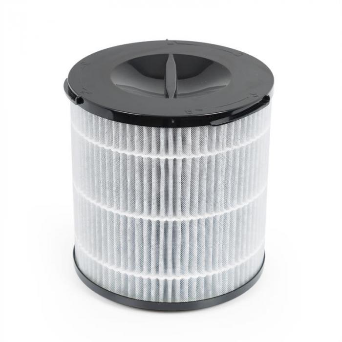 Arosa Filtro 3 Componentes Pré-Filtro Filtro HEPA H13 Filtro de Carvão Preto
