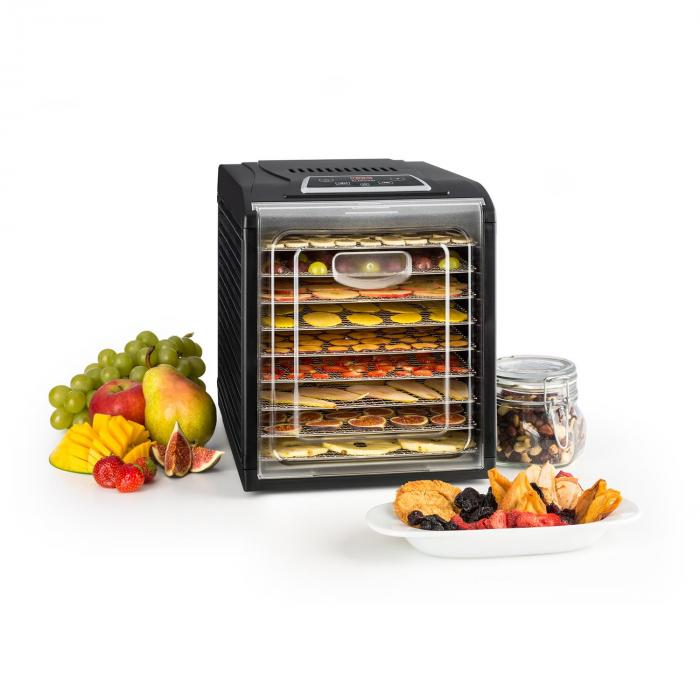 Fruit Jerky Plus 9 Dörrautomat Timer 9 Ablagen 600-700W schwarz