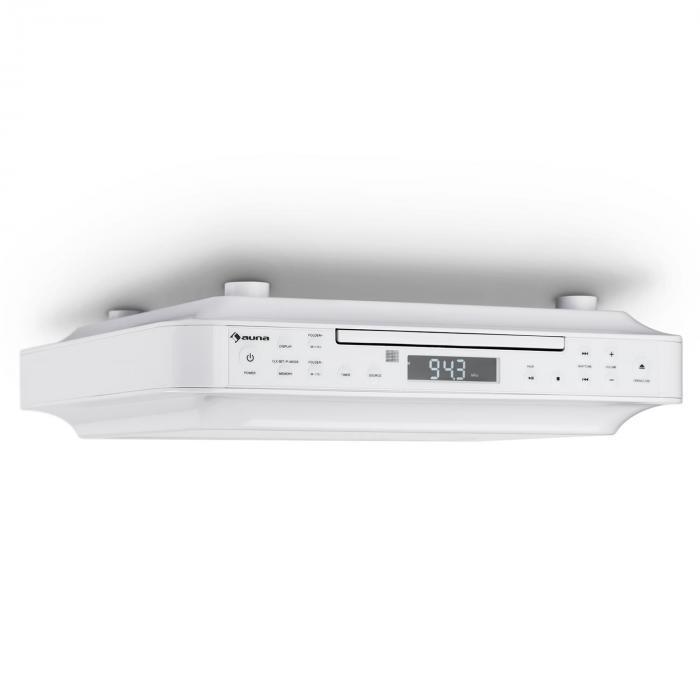 KRCD-100 BT Küchen-Unterbauradio CD MP3 Radio weiß