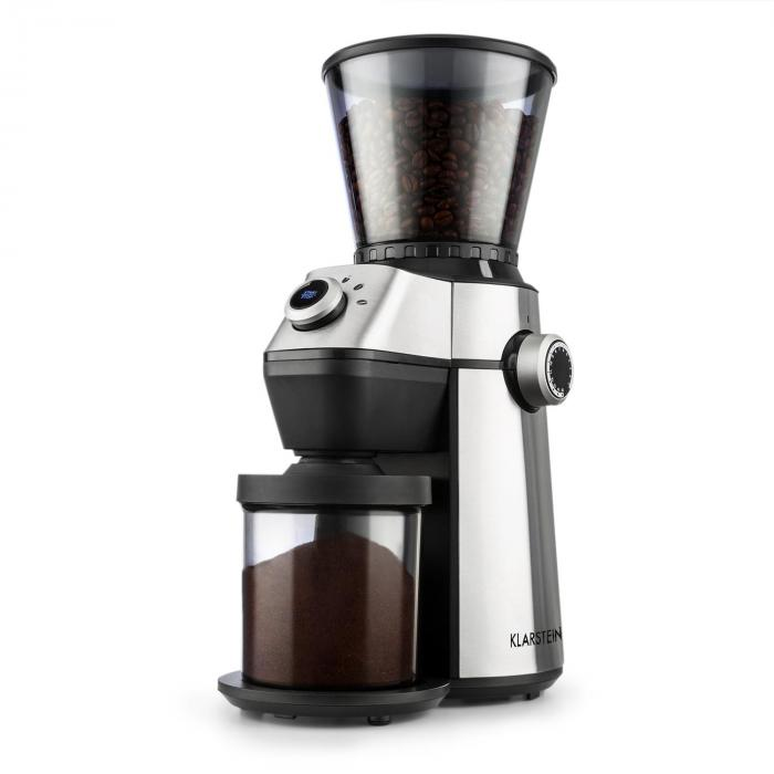 Trieste Coffee Grinder Conical Grinder 150W 300g 15 Grinding Degrees Stainless Steel