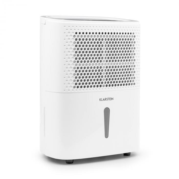 DryFy 10 luchtontvochtiger compressie 10l/24h 240W timer wit