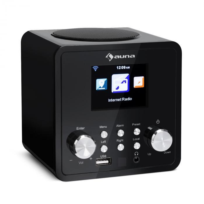 IR-120 Internetradio WLAN DNLA UPnP App-Control schwarz