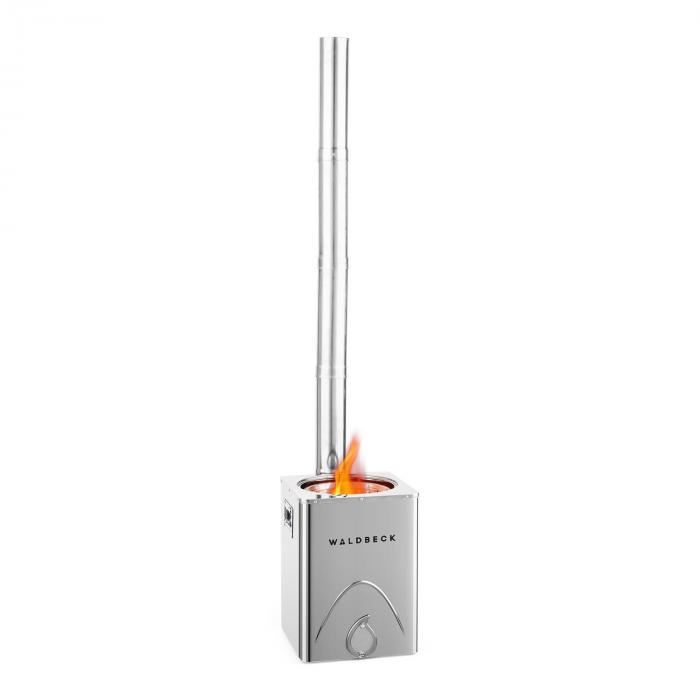 Survivalist Rocket Stove Camping Stove Environmentally Friendly Mobile Stainless Steel