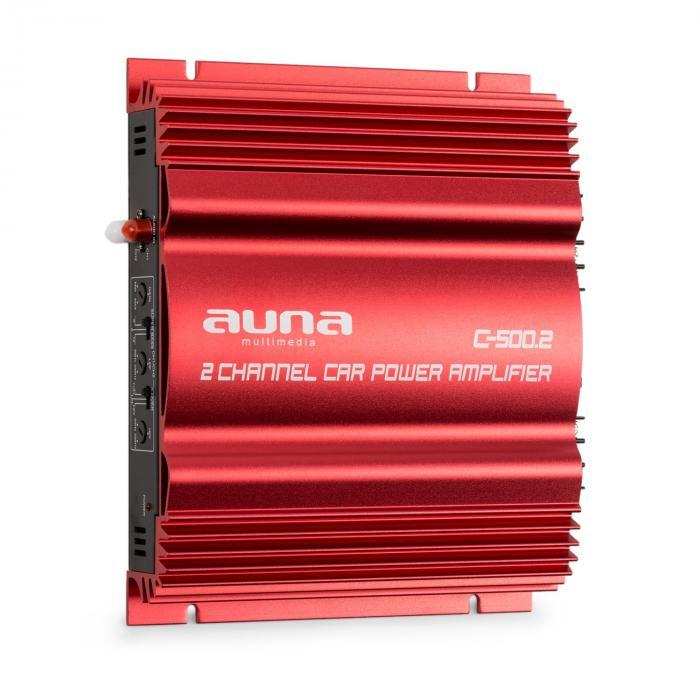 Auna C500.2 Wzmacniacz 2-kanałowy 2 x 95 W