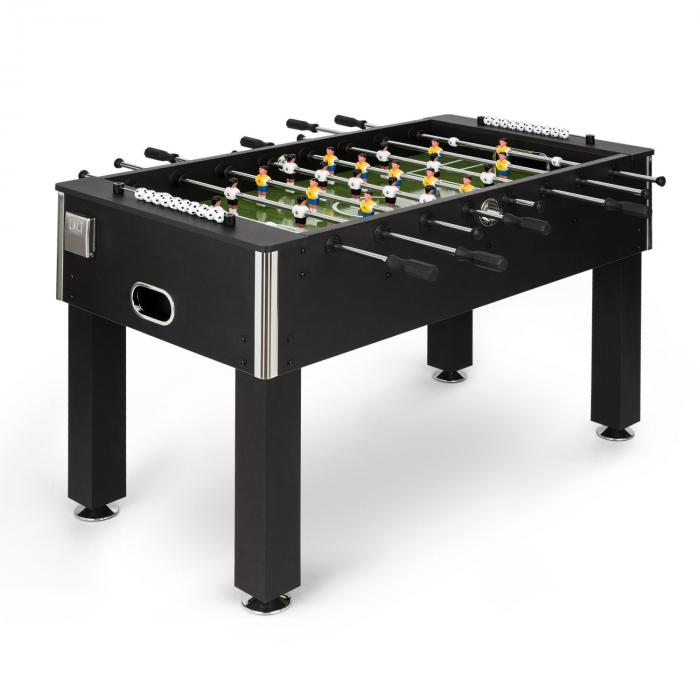 Maracan tavolo da calcio balilla misure da campionato palline di sughero supporto bevande nero - Calcio balilla da tavolo ...