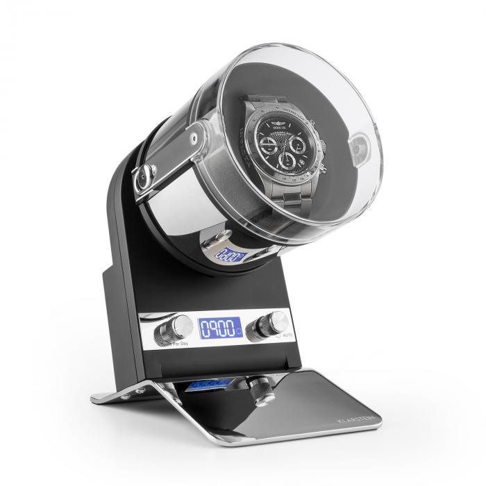 Montreaux Espositore Funzionamento a Corrente o a Batteria 650-3000 TPD Nero