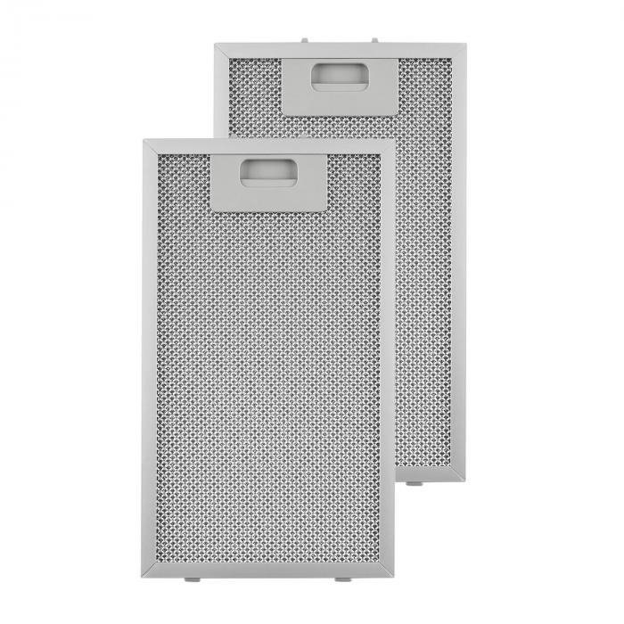 Alumiininen rasvasuodatin 18,5 x 31,8 cm vaihtosuodatin 2 kpl varaosa