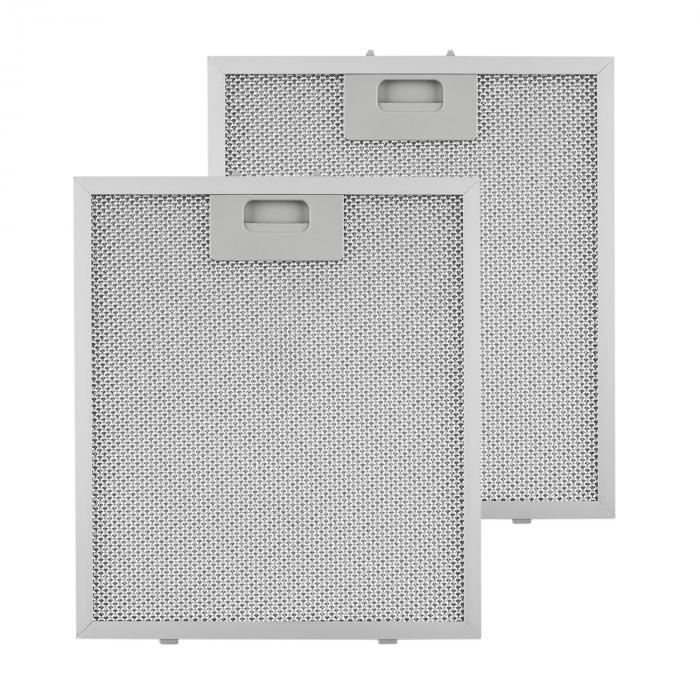 Klarstein Filtr aluminiowy przeciwtłuszczowy 25,8 x 29,8cm fitr wymienny 2szt. wyposażenie