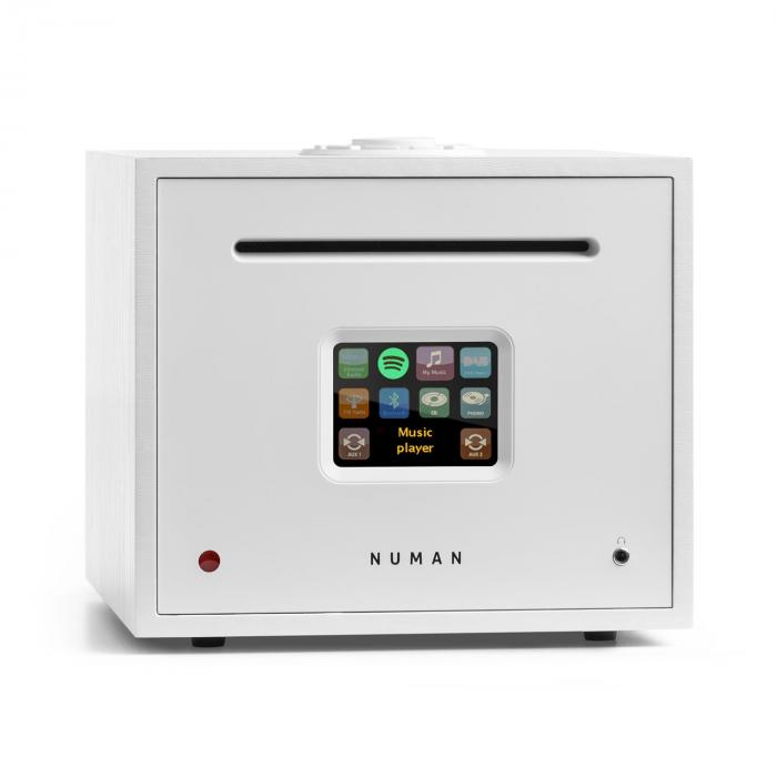 Unison Reference Edition – All-In-One Receiver con Amplificatore bianco