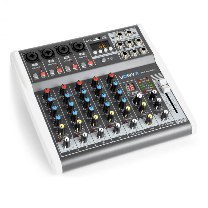 VMM-K602 6-Kanal Music Mixer Bluetooth USB-Audio-Interface jetztbilligerkaufen
