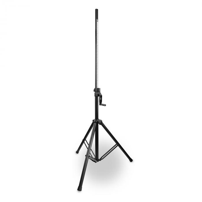 LS93 Supporto Professionale Wind-up per Altoparlante 134-205cm Acciaio