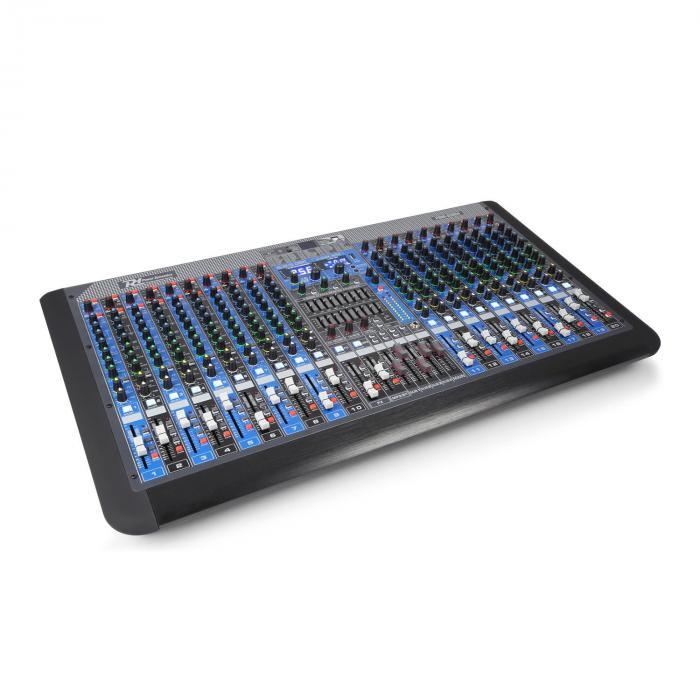 Power Dynamics PDM-S2004 20-kanałowy pulpit mikserski DSP/MP3, port USB, odbiornik Bluetooth